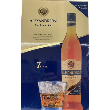 ALEXANDRION 7 STELE