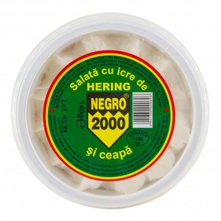Salată de icre cu hering 140 g negru