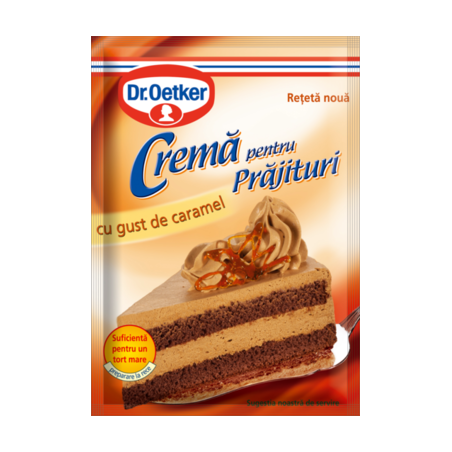 Crema de caramel Dr.Oetker, 55g