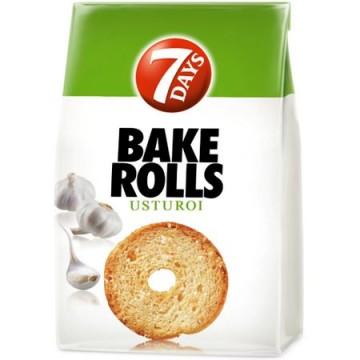 Rondele de paine cu usturoi...