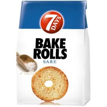 Rondele de paine cu sare...