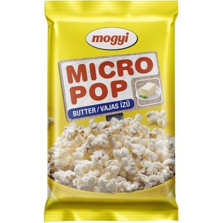 Popcorn cu unt pentru cuptorul cu microunde Mogyi, 100g