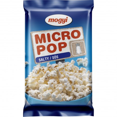 Popcorn cu sare pentru cuptorul cu microunde Mogyi, 100g