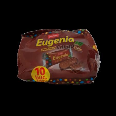 Dobrogea Eugenia Cacao - biscuiti cacao cu crema de cacao, 360g