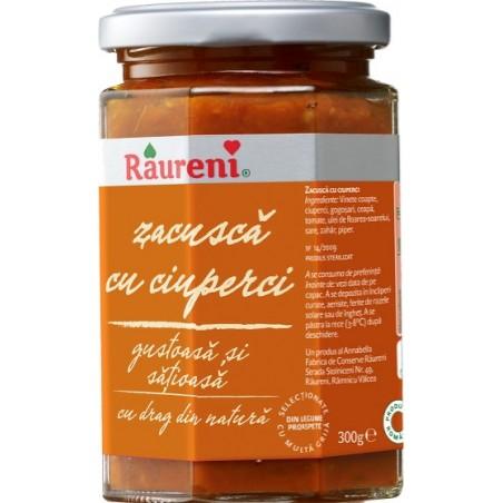 Zacusca cu ciuperci Raureni, 300g