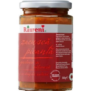 Zacusca picanta Raureni, 300g