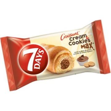 Croissant cream cookies...