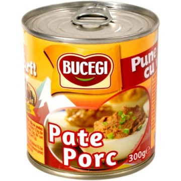Pate de porc Bucegi, 300g