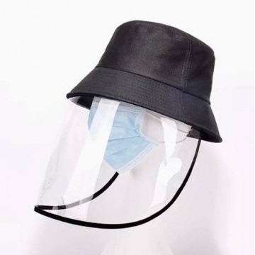 Palarie cu protectie faciala