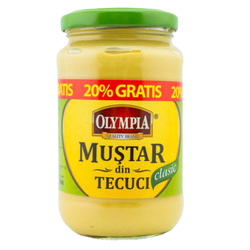 Mustar din Tecuci Clasic...