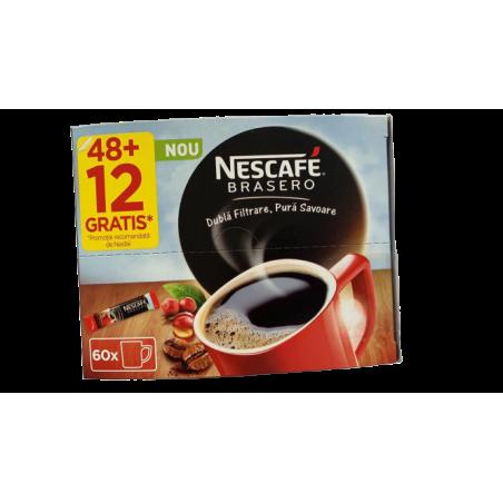 Cafea solubila Nescafe Brasero, 60x1,8g